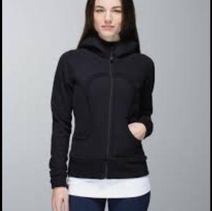 Lululemon women's black scuba hoodie